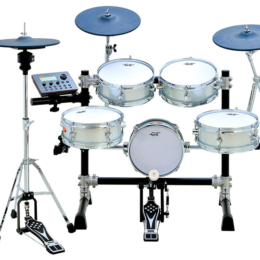 Goedrum Je6 Electronic Drum Set Color Silver.jpg