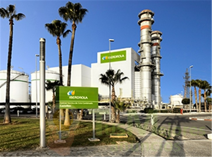 Iberdrola planea desarrollar en Castellón una planta fotovoltaica para sus ciclos combinados